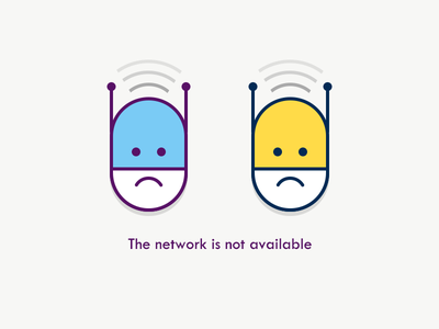 The Network Is Not Available icon