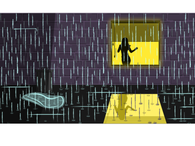 Rain Illustration