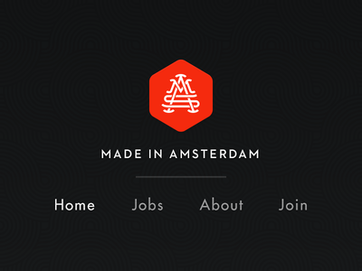 Made in Amsterdam navigation