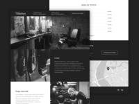 Woodman Barbershop Landing Page