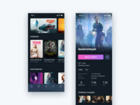 Online Cinema App Concept