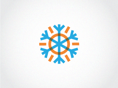 Sun & snowflake