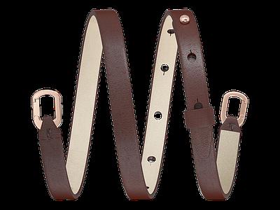 Burgundy Bracelet / Accessories accessories bracelet leather strap 3d