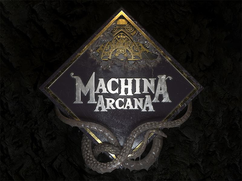 Machina Arcana 3d logo redesign by Kresimir Jelusic on Dribbble