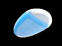 Ulla back logo/transparent material