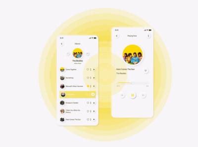 Music app_Neumorphism
