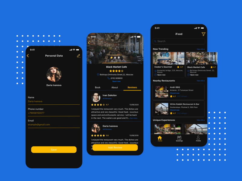 Dark Mode_Booking App