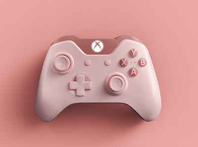 XBOX PINK CONTROLLER
