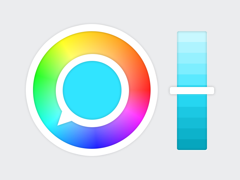 Colorwheel dribbble
