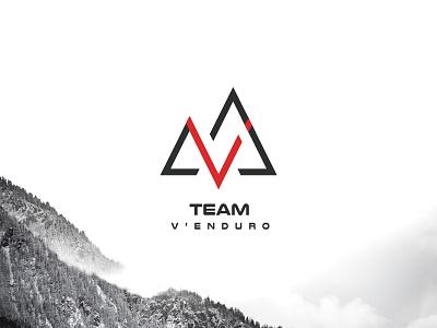 Team V'Enduro   Brand Design logo art direction illustrator branding illustration design