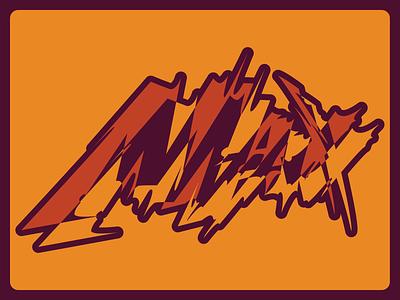 Max vector branding illustration logo design illustrator typogaphy