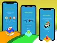 Calling While Roaming App UI Walk Through Concept