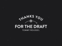Thanks for the draft