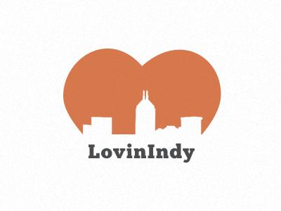 LovinIndy heart logo indy indianapolis