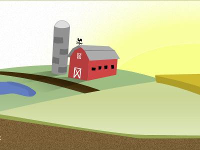 Barn barn illustration farm grain silo