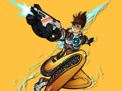 Tracer Illustration