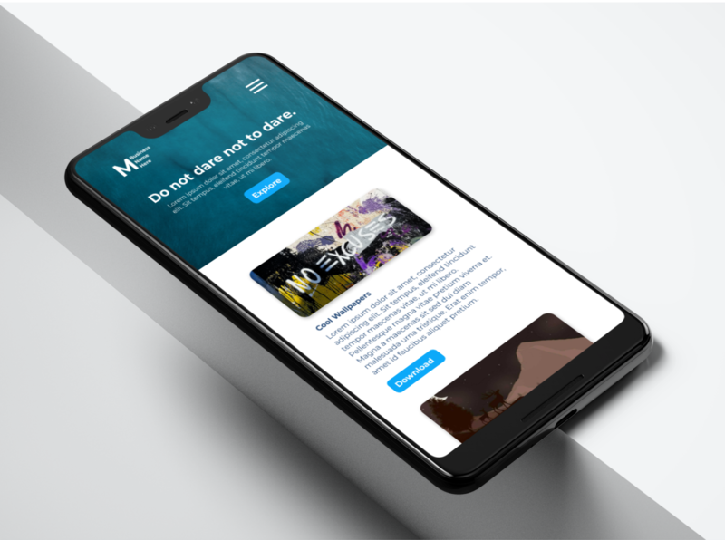 Visual presentation of your designs. 😃 ui mobile ui uiux webdesign uidesign