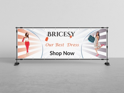 Banner Design For Shop typography smart style stylish simple good design colors corporate design branding