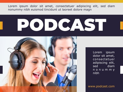PODCAST COVER logo typography style smart stylish simple good design colors corporate design branding