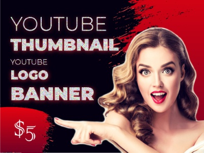 Youtube Thumbnail typography style smart stylish simple good design colors corporate design branding