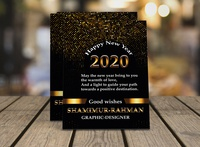Flyer Happy New Year 2020
