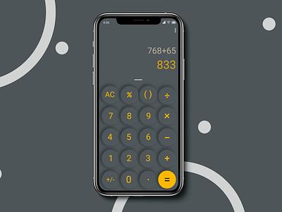 Daily UI :: 004 - Calculator dailyuichallenge ux dailyui ui icon graphic design design illustration