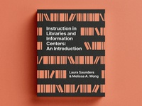 📚 Library Instruction Book Cover illustration academic graphic design library book cover book