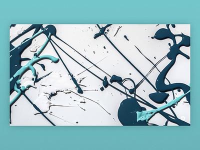 Knit Con - Paint Splatters splatter event design stop motion video paint branding