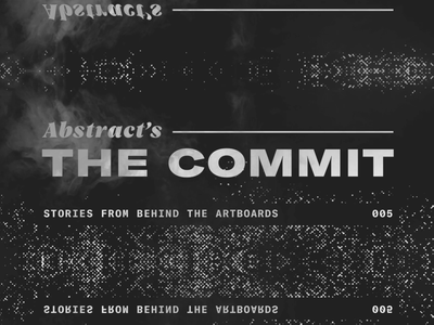 👻 The Commit™ email gif design animation motion glitch fog halloween spooky motion design abstract