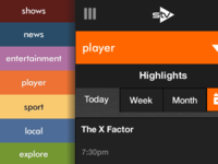 STV player for small screens (rough draft)