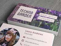 Techno Garden Cards