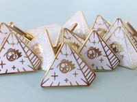 Frilluminati Enamel Pin Design
