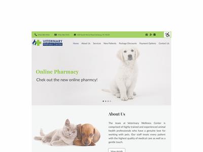 Web Design -Veterinary Clinic
