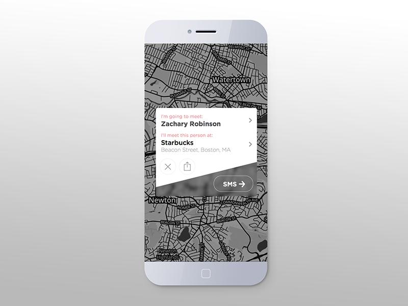 Modal Screen modal ios flat modern apple app mobile iphone ui ux design