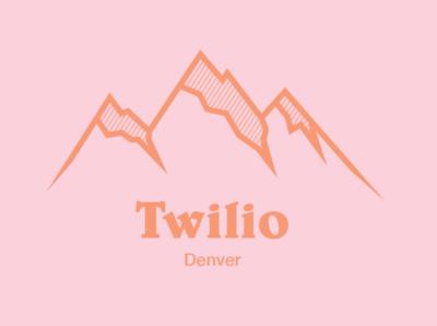 Twilio Denver Logo Concept