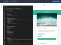 New SendGrid Email Code Editor