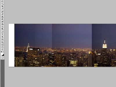 Stitchin' photoshop screenshot nyc new york city panoramic top of the rock canon 60d photograph