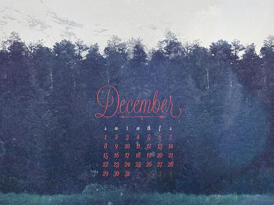 December 2013 calendar lost type co-op download wallpaper