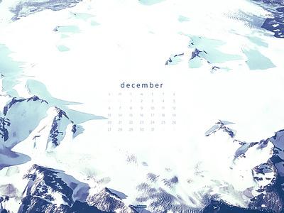 December 2020 4k greenland photograph download calendar wallpaper