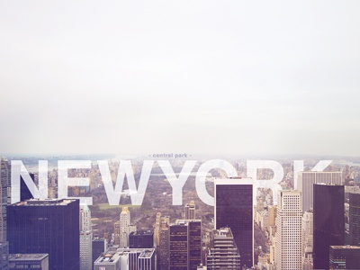 New York new york city nyc helvetica central park photograph top of the rock canon 60d playoffs