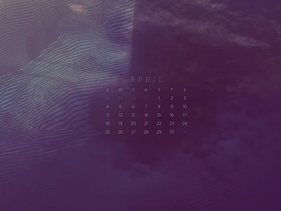 April 2021 4k artwork photography abstract download calendar wallpaper