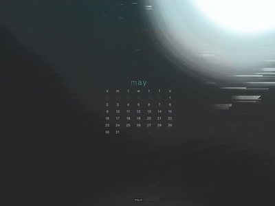 May 2021 artwork 4k download glitch abstract calendar wallpaper
