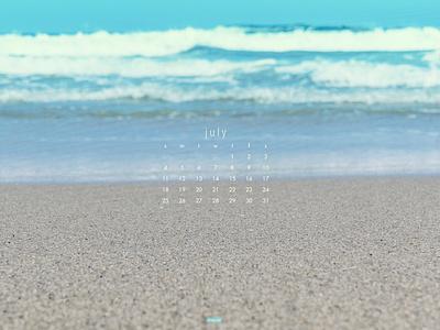 July 2021 sony a7 photography beach download calendar wallpaper