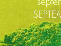 WIP - September Calendar
