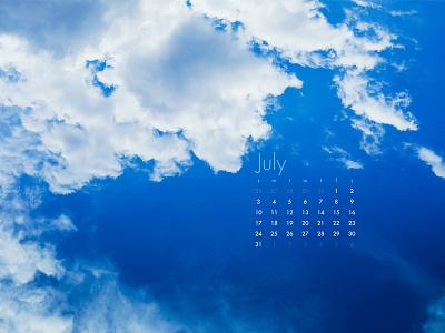 July 2016 sony a7 photograph wallpaper calendar download cloud sky