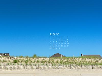 August 2016 beach download calendar wallpaper photograph sony a7