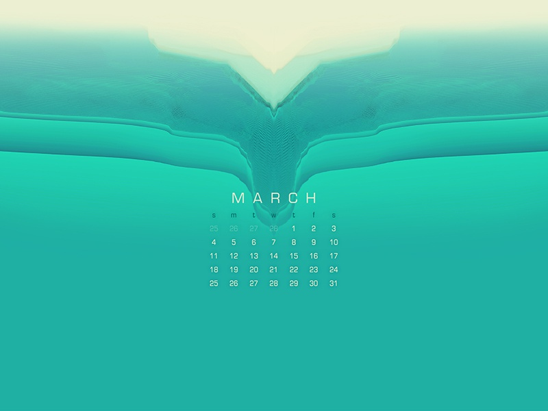 March 2018 dribbble