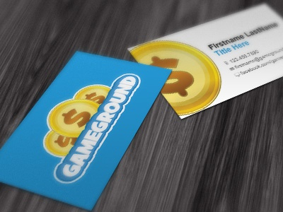 Business Cards (unapproved) work business card mockup coin