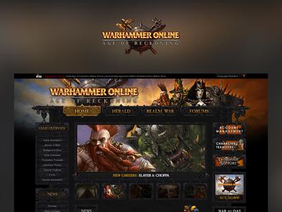 Case Study: Warhammer Online case study ux design ui design web design warhammer online warhammer