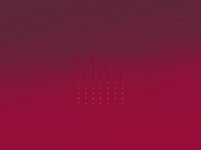 May 2018 glitch minimal download wallpaper abstract calendar